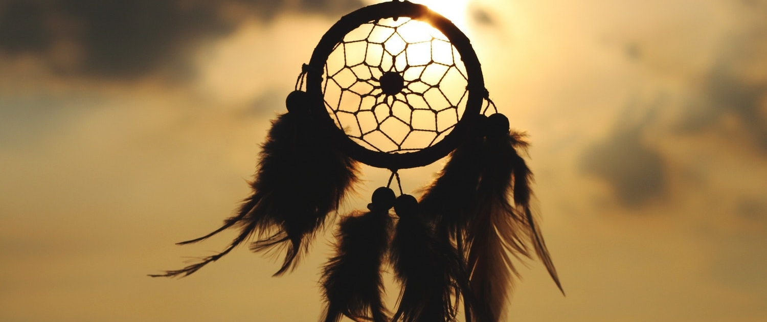 Empowerment coach's dream catcher