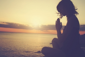 Maiko Michelle Stepmom self-care: a stepmom taps into her personal power in loving meditation
