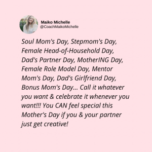 Twitter Post about Stepmoms Day