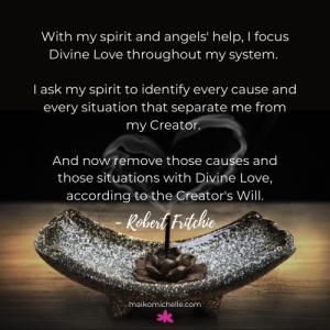 Visual of Divine Love Prayer